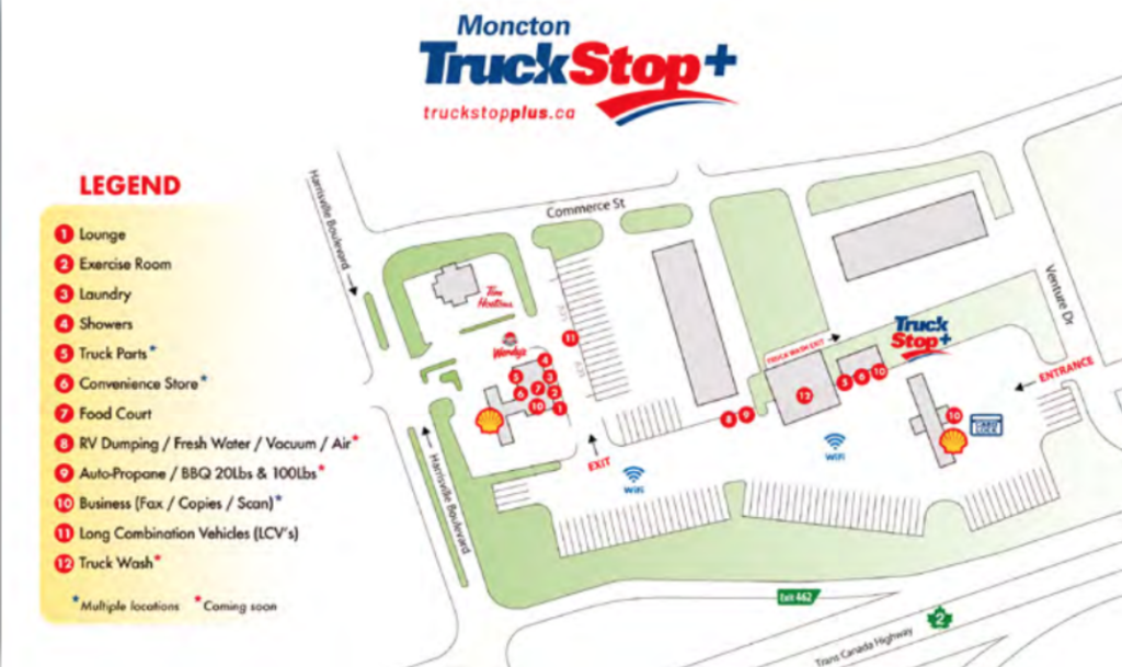 Maritime Truck Stop Locations - Auto Atlantic Magazine
