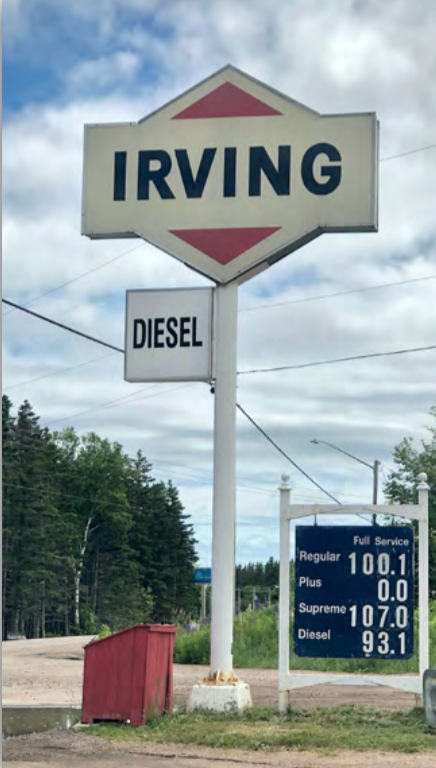 Irving, NS Gas prices - Auto & Trucking Atlantic